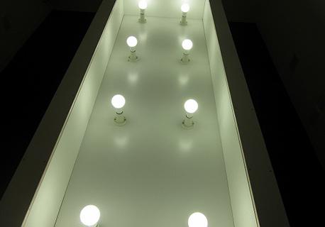 店舗用LED照明の設置工事